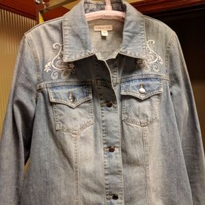 Coldwater Creek Women's denim jacket 18W